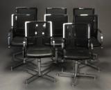 Wagner. Otte kontorstole/konference stole (8)