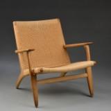 Hans J. Wegner. Lounge chair, model CH-25