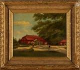 Anna Kockum oljemålning