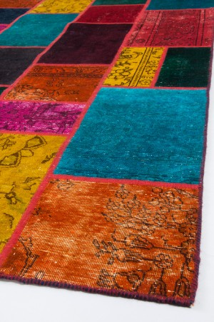 orientaliska mattor patchwork vintage teppich iran 238 x 174 cm de hamburg. Black Bedroom Furniture Sets. Home Design Ideas