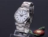 Rolex 'Air-King Precision'. Herreur i stål med hvid skive, ca. 2003