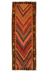 Persisk Harsin Kelim 300 x 105 cm.