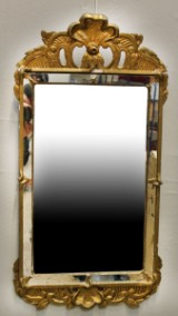 Spegel, rokokostil, 1800/1900-tal