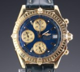 Breitling Chronomat GT men's watch, gold
