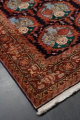 Persisk ardebil tæppe med bomuld. Str. 300 x 202 cm.
