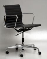 Charles Eames. Leather office chair, model EA-117