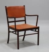 Ole Wanscher. 'Colonial Chair', armstol af mahogni model PJ-301