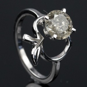 Solitaire ring ca. 1.91 ct.