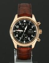 IWC Fliegeruhr, 'Spitfire' men's watch, 18 kt