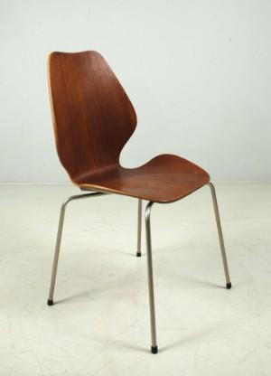 Øyvind iversen for møre møbler city chairs i teak ca 1960 4