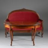 Empireformet sofa og bord (2)