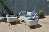 Garden lounge set, model Vanilla (4)