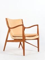 Finn Juhl. NV-45 lounge chair, teak, Onecollection