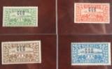 Frimærker - Slesvig med C.I.S og postkort fra 1. Verdenskrig