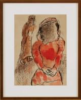 Marc Chagall färglitografi