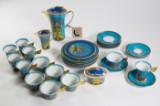 Miscellaneous coffee set, Paul Wunderlich for Rosenthal 'Le Jardin de Versace' (33)
