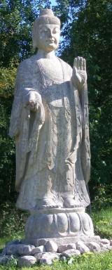 Stor Buddha skulptur