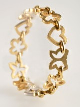 Ole Lynggaard,  Anemone armband i  18 kt guld.