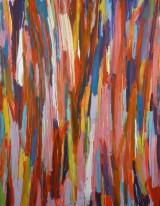 Sinan Steiner, 'Coulor Cascade', abstrakt maleri