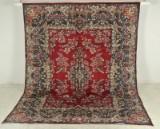 Yazd tæppe, Persien, ca. 337 x 260 cm