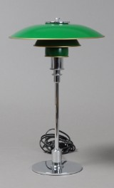 Foot and shade set for PH 3/2 table lamp, Louis Poulsen, Poul Henningsen
