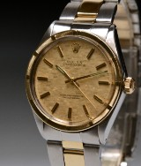 Rolex Oyster Perpetual Chronometer men's watch, 18 kt. gold and steel
