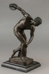 Figur af bronze forestillende Diskoskaster