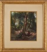 Egron Lundgren akvarell
