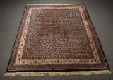 Indisk tæppe, 254 x 204 cm.