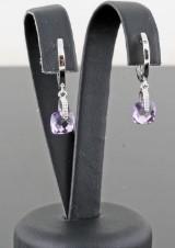 Ametyst earrings 1.78ct. (2).