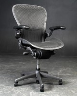 Donald Chadwick & William Stump. Aeron office chair with multiple adjustments, model C