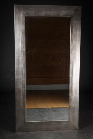 stort spejl Stort spejl i bred ramme | Lauritz.com stort spejl
