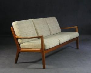 m bel ole wanscher sofa mit 2 sesseln 39 modell 166 39 f r france s n. Black Bedroom Furniture Sets. Home Design Ideas