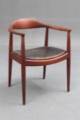 Hans J. Wegner. Teak armchair, model 503, the Chair