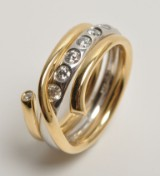 Georg Jensen - Magic ring(s) with diamonds