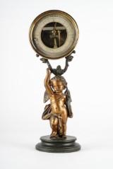 Barometer/termometer på puttifot