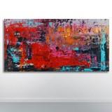 Sky Dweller, akrylmaleri, 'Caribbean Summer'