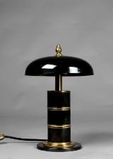 Bordslampa art deco stil