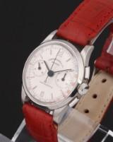 Eberhard & Co. 'Contograf'. Mid-size chronograph, steel