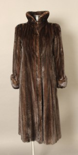 Valentino mink coat, size approx.: 38-40