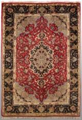 Oriental rug, Ghom, korkull, 203x140 cm