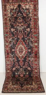 Handknuten persisk gallerimatta, Hamedan 300 x 100 cm
