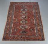 Persisk tæppe, uld på bomuld, 195x138 cm.
