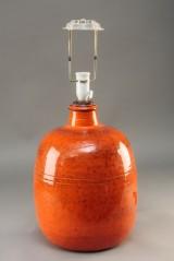 Niels Kähler: Orange bordlampe