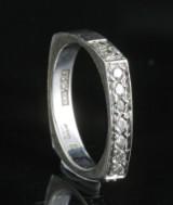 14kt diamond ring approx. 0.22ct