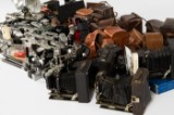 A large collection of antique cameras (46)
