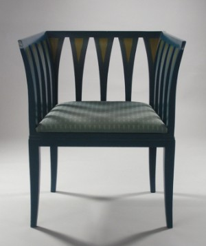 Furniture Eliel Saarinen Blue Chair