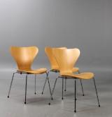 Arne Jacobsen, Sjuan, stolar, 3107 3st.