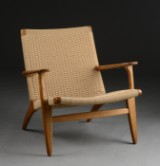 Hans J. Wegner. Oak chair, model CH25