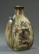 Bode Willumsen. Vase af stentøj